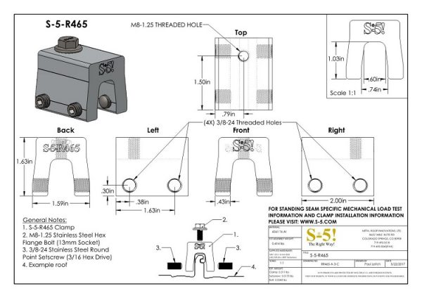 S-5-R465 pdf CAD Drawing